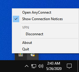 Windows Disconnect